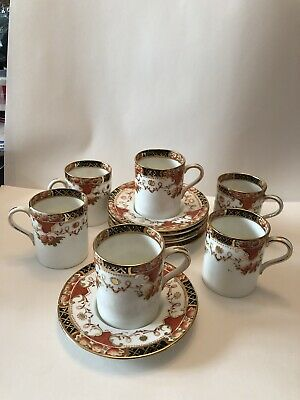 Sautherland 6 Coffee Cups And 6 Saucers • 44£