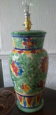 Large Beswick Venetian Majolica Floor/Table Lamp • 58£