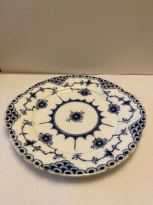 Stoke Blue And White Plate • 13£