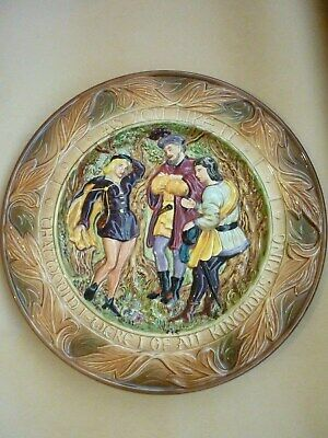 Vintage Quirky/Risky Beswick Suggestive [As You Like It] Charger Plate. • 35£