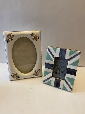 Vintage Royal Tara Photo Frame And A Photoframe From Paperchase • 13£