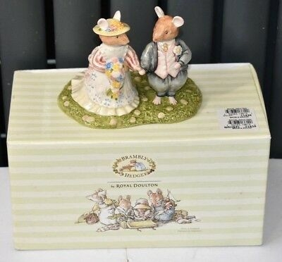 Royal Doulton Brambly Hedge ~ Bride And Groom Wedding Figure DBH44 Boxed • 39.99£