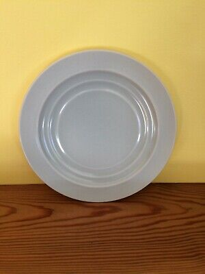 """Branksome China Vintage Twin Tone 1950s Side Plate """"D"""" 6 ½""""diameter Blue Green   • 1.74£"""