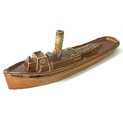Rare Royal Doulton Salt Galzed Model Of A Tugboat - 1926 • 1,350£