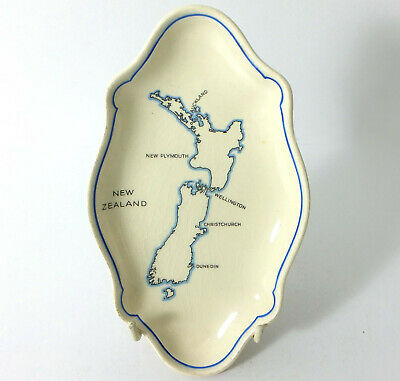 Royal Doulton Pin Tray Depicting New Zealand • 55£