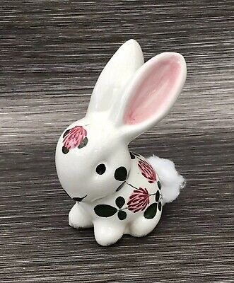 Cotton Tail Bunny Rabbit Plichta London Wemyss Pottery Traditional Clover • 99.95£