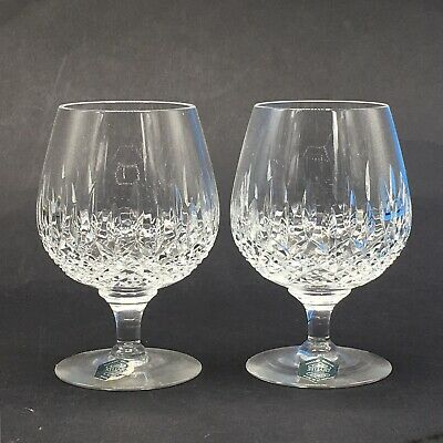 Stuart Crystal Pair Of Maddison Cut 13cm Brandy Balloon Glasses • 24.99£