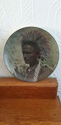 Royal Doulton Seriesware Plate New Guinea Native Excellent Condition D6437 • 14.99£