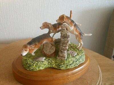John Beswick - Rare Figure/sculpture    The Chase    1984 Countryside Series • 40£