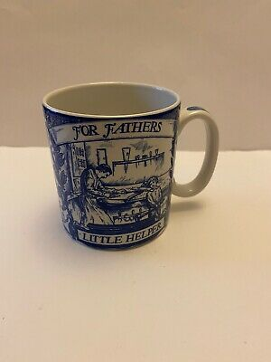 The Spode Blue Room Collection FATHERS LITTLE HELPER  Mug • 7.50£