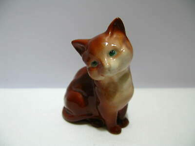 Vintage BESWICK ENGLAND Sitting CAT Excellent Condition • 20£