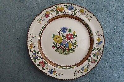 Copeland Chinese Rose Hand Painted Dinner Plate • 15£