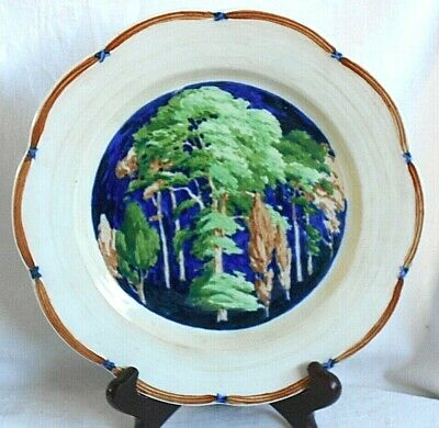 Early C20th Adderley Hand Painted Staffordshire Plate • 10£