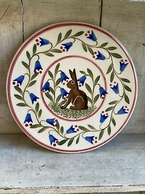 Bell Pottery Small Flat Plate/ Cake Plate/Trivet • 25£