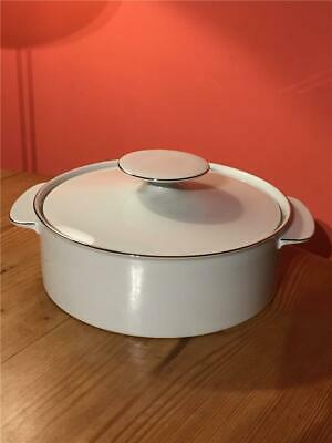 Thomas Germany Platinum / Silver Band Lidded Tureen 8  20.5 Cm • 14.99£