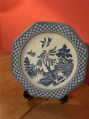 """Meakin Ironstone  Willow 6.75"""" Side Plates • 3.99£"""