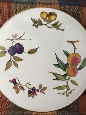 """Royal Worcester. Very Large Serving/gateaux Plate. 12.5"""" Diameter. Arden • 0.99£"""