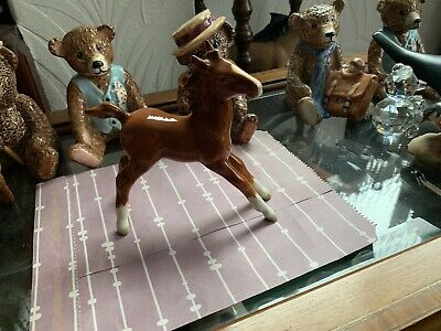 Rare Beswick Chestnut Large Stretched Foal - 1st Ver - No 836 • 275£