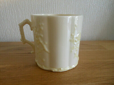 Belleek - Unusual Mug / Cup With Handle  - 7th Brown Mark  • 12.99£