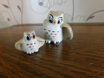 Wade Owl Family Mother And Child. • 5£
