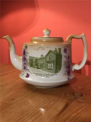 Rare Kirkby In Furness Co-operative Society Tea Pot Transfer Printed 1912 • 39.99£