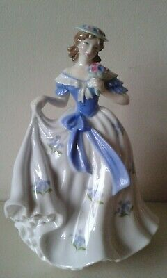 Worcester Compton Woodhouse Forget Me Not Figure • 20£