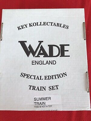 Wade Summer Train Set Special Edition Boxed • 30£