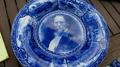 Charles Dickens Commemorative Plate. 1904 The Rowland & Marsellus Co. • 22£