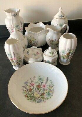 Collection Of Various Aynsley Pieces Wild Tudor Pattern Includes Vases #471 • 10.50£
