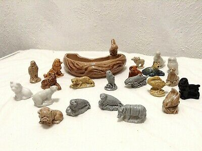 Job Lot Of Mixed Wade Whimsies And Other Wade Pieces -Animal Figurines & 1 Dish • 4.99£