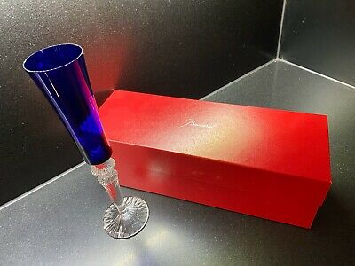 BACCARAT BLUE CHAMPAGNE FLUTE - 'Mille Nuits' • 79£
