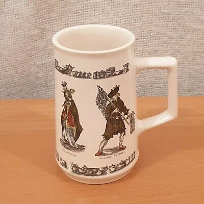 Holkham Pottery Cries Of London Brick Lane Market Traders Tankard Mug • 9.99£