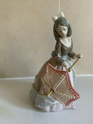 Lladro Jolie - Girl With Parasol *SECOND* • 8£