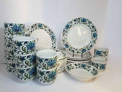 Midwinter Spanish Garden Incomplete Dinner Tea Set • 90£