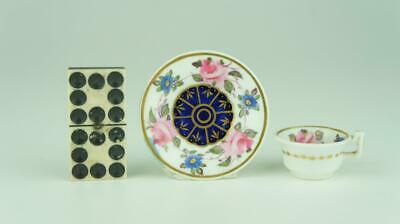 Good Early 19thC Miniature Spode Etruscan Cup & Saucer, Pattern 3146 • 9.99£