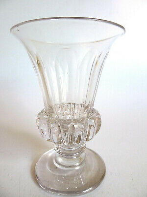 EARLY 19th C. GEORGIAN JELLY GLASS WITH GADROONING • 30£