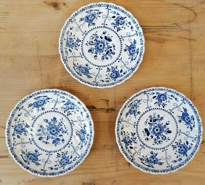 Johnson Brothers Indies Saucers X 3 • 1£