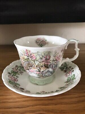 Royal Doulton Brambly Hedge Jill Barklem Four Seasons Summer Full SizeCup&Saucer • 16.99£