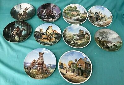 Collection Of Decorative Plates - Mixed Makers Royal Doulton, St Andrews #258 • 9.99£
