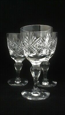 Thomas Webb Crystal St Andrews Glasses - Various X 9 • 19.95£