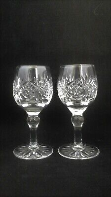 Thomas Webb Crystal Regency - Various X 6 Glasses • 19.95£