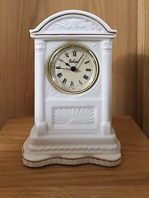 BELLEEK (Ireland) MANTEL CLOCK  • 9.99£