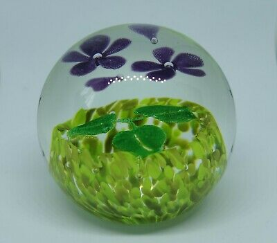 Caithness Glass Paperweight Wildflower Collection No.27761 • 14.99£