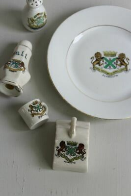 5 Pieces Of Plymouth Crestware • 18£