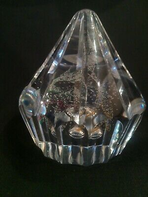 Caithness Crystal Glass Paperweight  Ice Fusion  Number 37/100 2010 Limited... • 20£