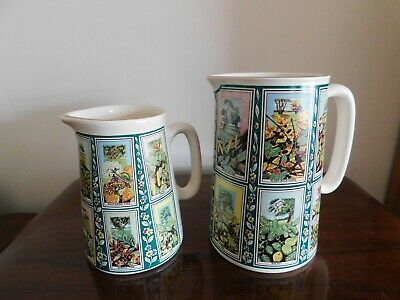 Ringtons Picture Card Ceramic Jugs X2 • 12.99£