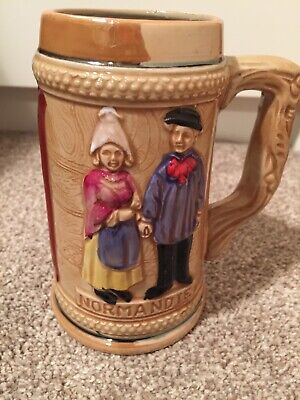 TOBY JUG From France NORMANDIE Immaculate Condition Collectors Item Home Decor • 6.59£