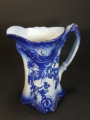 Antique Flow Blue Jug 6.5  • 15£