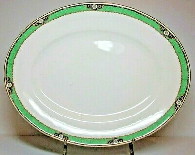 A.J.Wilkinson 32cm Rare Royal Staffshire Antique Oval Plate Platter Excel Condit • 30£