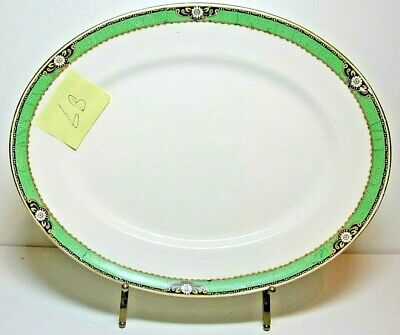 A.J.Wilkinson 29cm Rare Royal Staffshire Antique Oval Plate Platter Excel Condit • 25£